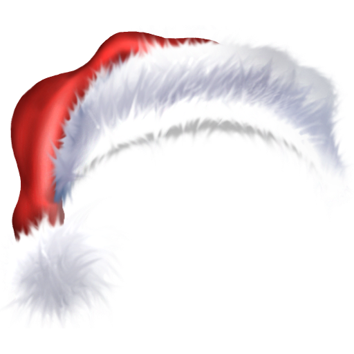 santa hat clipart with transparent background - photo #25