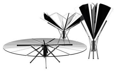 Umbrella Like Table