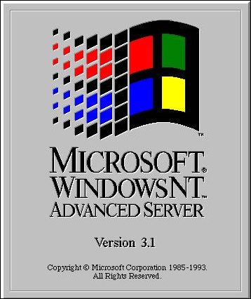 Windows NT 3.1 Advanced Server