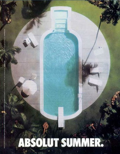 ABSOLUT VODKA Ads Campaign