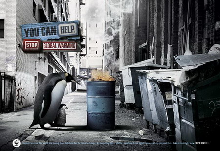 touching public service ads design