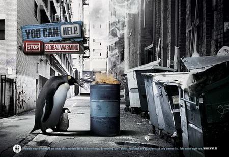 touching public service ads design