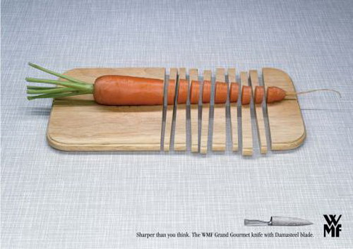 How sharp your knife can be - smart knife ads