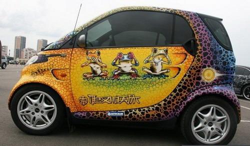 artistic car painting