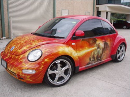 artistic car painting - Car Paint Design Ideas