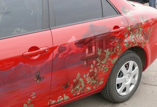 artistic car painting