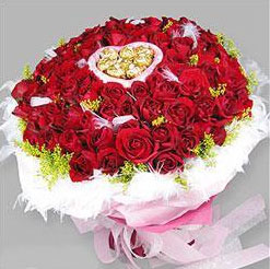 Valentine Flower Design