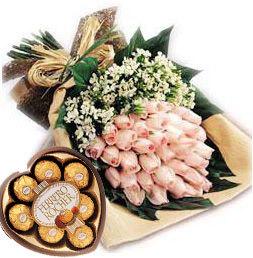 Valentine Flower Design