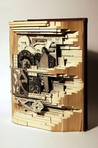 Incredible Book Carving