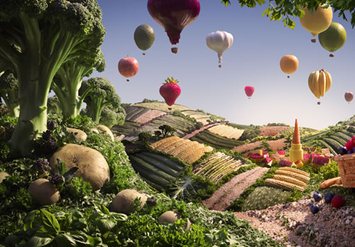 Fascinating Food Landscape
