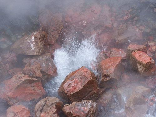 amazing hot spring in the world