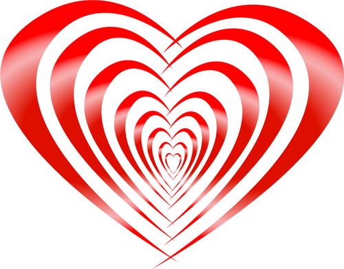 Vector Loving Heart  for Valentine