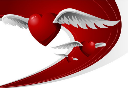 Vector Loving Heart  for Valentine