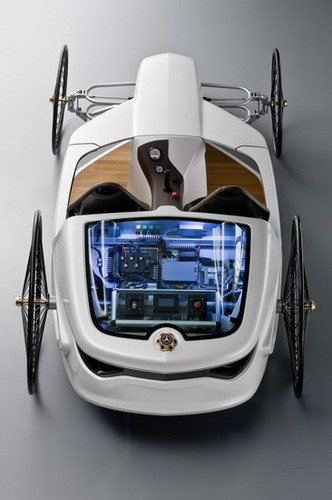 concept design from benz roadster