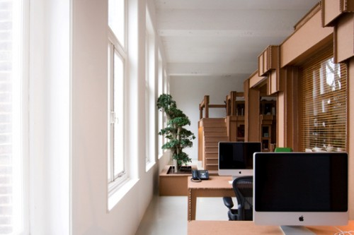 Fantastic Cardboard Office