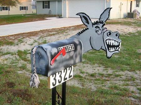 funny mailbox design